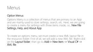 xamarin layout file learn xamarin absolute beginners permissions building the app gui