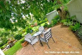 Shady Backyard Ideas Small Shady Patio Garden Design