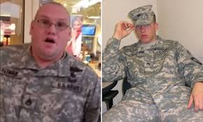 Army Ranger Memes - fake army ranger busted by a military hero at the mall on black