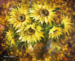 sunflowers for sale canvas for sale canvas flowers yellow authenticity