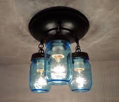 Blue Light Fixture 203 Best Jar Light Fixtures Images On Pinterest Craft