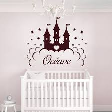 sticker chambre bébé fille stickers princesse
