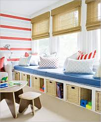 storage ideas for toys kids play room idea add bookshelves to end make a bed rail