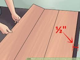 problems laying laminate flooring meze