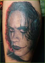 for unique portrait tattoos tattoos the crow brandon lee u003d