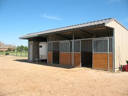 Loafing Shed Plans Horse Shelter by Colorbond Exterior With Timber And Steel Sliding Doors Tack Room