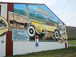 route 30 mural in st thomas roadside wonders more wonders