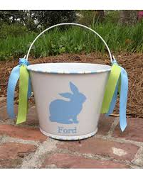 monogrammed easter buckets here s a great price on personalized easter basket easter pail