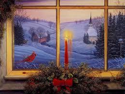 kinkade cards on seasonchristmas merry