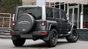 jeep wrangler pickup black jeep wrangler sahara 2 8 diesel 4dr ctc black hawk by kahn