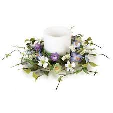flower candle rings cheap pillar candle rings find pillar candle rings deals on line
