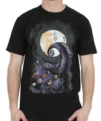 nightmare before cover t shirt