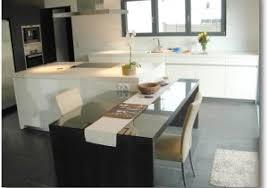 idee cuisine ilot central ilot cuisine table avec cuisine moderne idees nz idees et cuisine