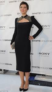 black friday washington dc maggie gyllenhaal opts for black and gold at washington dc
