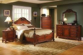 cool crafted antiquity of old world bedroom furniture old world