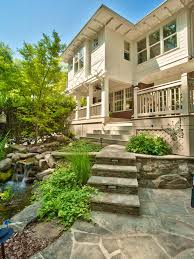 Retaining Wall Stairs Design Photo Page Hgtv