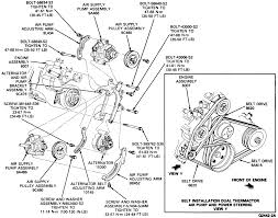 Ford 390 Water Pump 1986 Ford Econoline Water Pump Factory Schematic Step Instructions