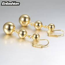 gold drop earrings aliexpress buy enfashion dot drop earrings