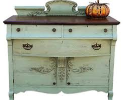 painted buffet etsy