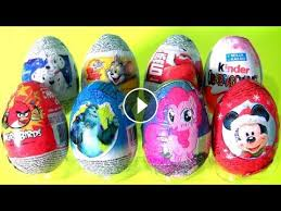 Mlp Easter Eggs Eggs 101 Dalmatians Kinder My Pony Mickey Angry