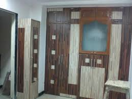 wardrobe design with mandir provision gharexpert