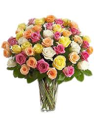 roses bouquet 48 assorted roses bouquet 4 colors flower delivery philippines