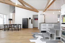 loft houses unconventional paris loft apartment with timeless modern flair