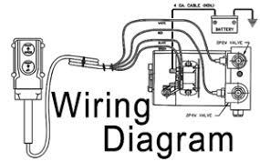 4 wire hydraulic pump control dump trailer remote control