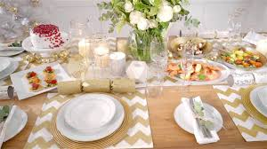 Table Setting by Kmart Christmas Table Setting Youtube