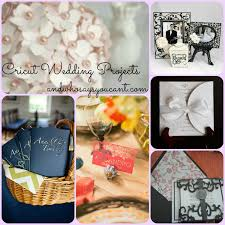 and who says you can u0027t diy wedding projects with your cricut