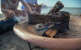 how to make a fire glass pit how to refinish a rusty fire pit home improvement projects to