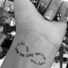 tattoo quotes for life 45 tattoo quote ideas for women pretty designs