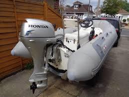 avon rover rib 3 4 with honda 20 hp 4 stroke engine in