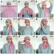 tutorial jilbab remaja yang simple 21 model tutorial hijab terbaru 2017 2018 dan terpopuler saat ini