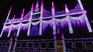 saks fifth avenue lights saks fifth avenue 2017 holiday light show test youtube