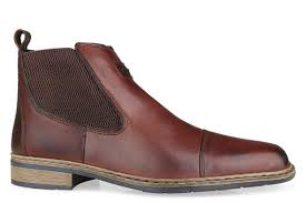 rieker s boots uk trendy rieker 30863 25 leather slip on ankle boot brown for