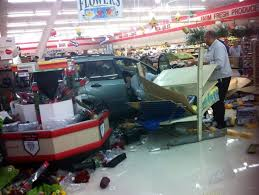 car crashes through front of elkton grocery store regional