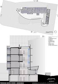 prathama blood bank third floor plan and section y y