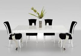Dining Table Ls White Lacquer Modern White Dining Table Ls 208 Modern