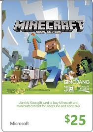 where to buy minecraft gift cards microsoft 25 xbox gift card green xbox live minecraft 2014 25