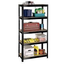 Metal Shelving Unit Shop International Tool Storage 72 In H X 36 In W X 18 In D 5 Tier