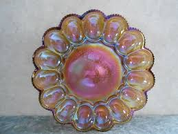glass deviled egg plate 117 best devilled egg platters images on