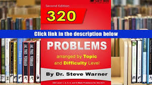 free download 320 act math problems arranged by topic and