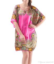 2017 nukawa women u0027s soft silk batwing sleeve pajama nightgown