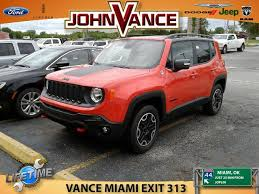 jeep renegade mileage used jeep renegade 4wd 4dr trailhawk 2016 for sale guthrie ok