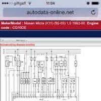 nissan march k11 wiring diagram yondo tech