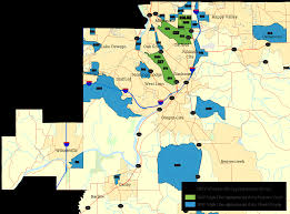City Of Phoenix Map by Business Oregon Eb 5 Program Maps 2017