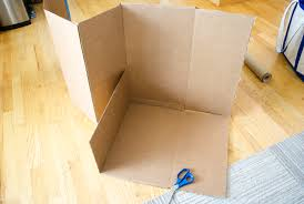 Decorate Cardboard Box Diy Cardboard U0026 Paper Magic Tree House Birthday Party Decoration