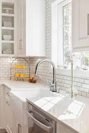 farmhouse sink with backsplash quartz countertops and backsplash farmhouse sink with misty carrara