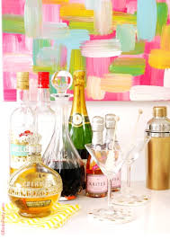 how to style a diy home bar party ideas party printables